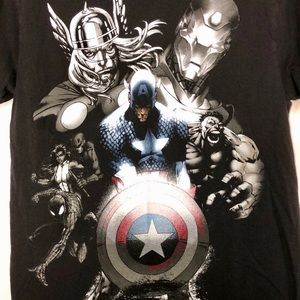 Marvel Avengers black T-shirt